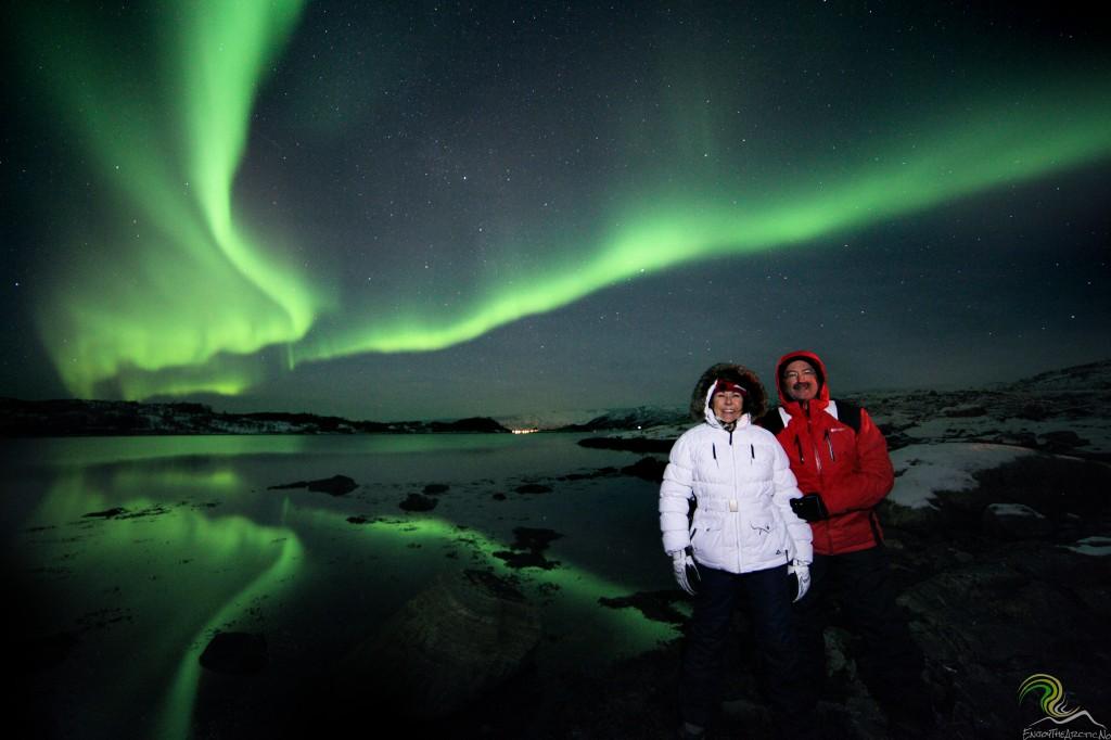 Enjoy The Arctic Northern Lights In Tromso Midnight Sun